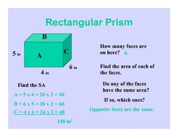Math Posters: Surface Area