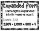 Math Posters - Word Form, Standard Form, etc. *Editable*