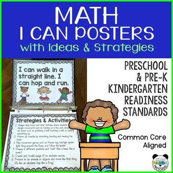I Can Statements Preschool Worksheets Teaching Resources TpT