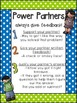 Math Power Partners FREEBIE! 3 Rules for Feedback!