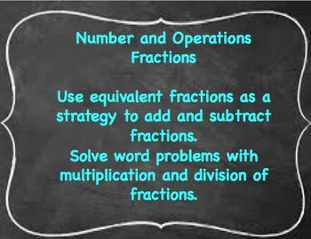 Math Power Standards