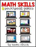 Math PowerPoint Games Bundle