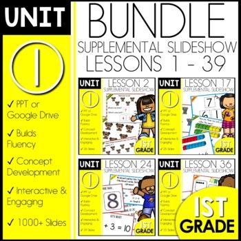 Module 1 Math | 1st Grade BUNDLE | DAILY MATH