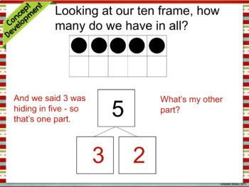Module 1 lesson 1 | Ten Frames | Number Bonds