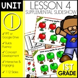 Module 1 lesson 4 | Counting On | One More