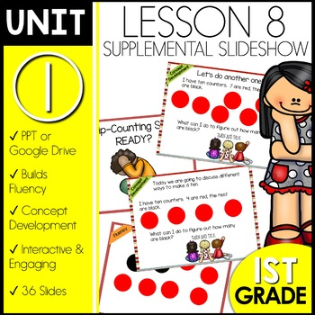 Module 1 lesson 8 | Skip Counting by Twos | Number Bonds