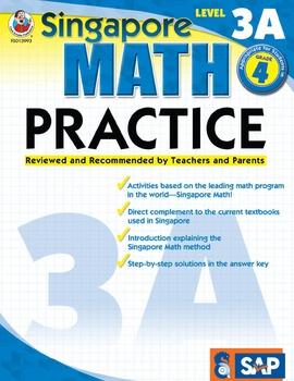 Singapore Math Practice Level 3A SALE 20% OFF! 0768239931