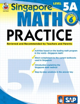 Singapore Math Practice Level 5A SALE 20% OFF! 0768239958