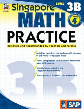 Singapore Math Practice Level 3B SALE 20% OFF! 0768240034