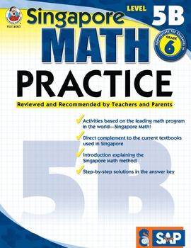 Singapore Math Practice Level 5B SALE 20% OFF! 0768240050