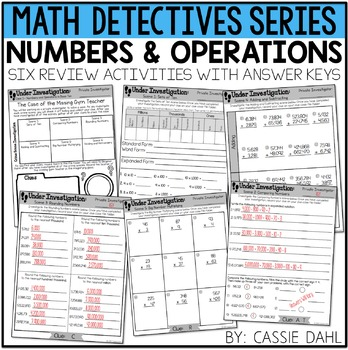Numbers and Operations Practice Pack