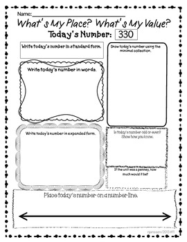 Common Core Math Practice in  Place Value,Fact Families,Algebraic Thinking