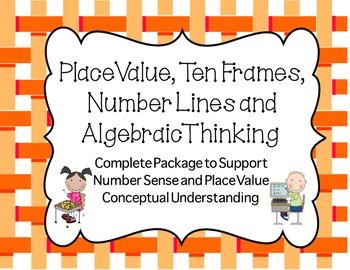 Common Core Math Practice in  Place Value,Fact Families,Al