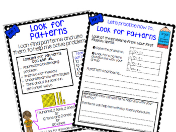 Math Practice 7 Classroom Poster, Lesson Plan, and Journal Pages