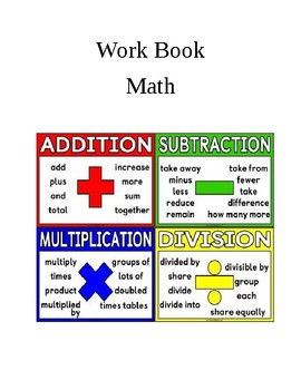 Math Practice Booklet grade 3 and 4