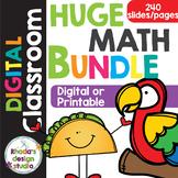 Math Practice Digital Worksheet RIT Band 161-230 Google Sl