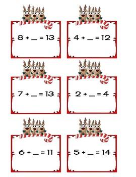 Math Practice Missing Addend, Bump, True/False