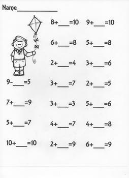 Math Practice Pack