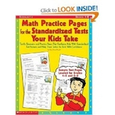 Math Practice Pages for the Standardized Tests Your Kids Take
