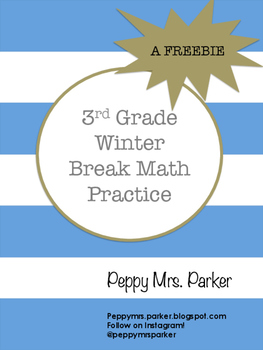 Math Practice Sheets