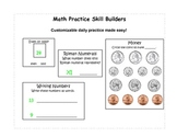 Math Practice Skill Builders