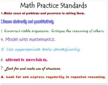 Math Practice Standards