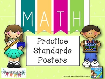 Math Practice Standards Posters/Strips