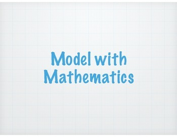 Math Practice Standards for Bulletin Boards