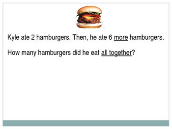 Math Practice: Word Problems (PowerPoint)