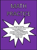 Math Practice for 4th Grade Oklahoma Academic Standards an