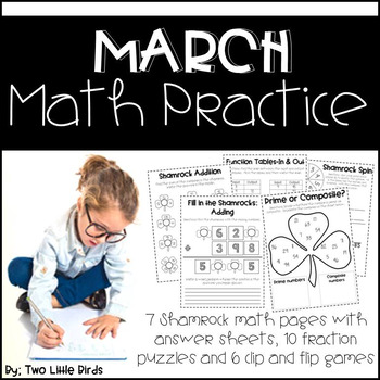 Math Practice for March