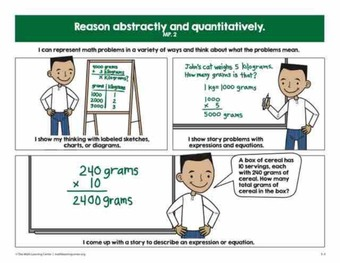 Math Practices Comics (3-5)