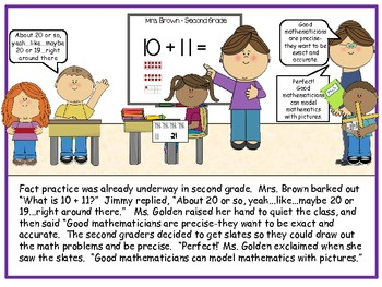 Math Practices - Nomathington - A short story to introduce math practices