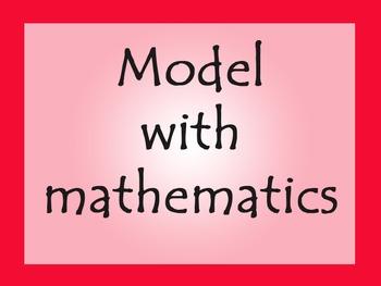 Math Practices Poster Set