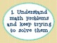 Math Practices Posters: Student Friendly Language
