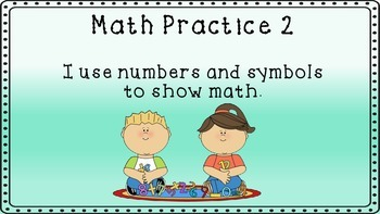 Math Practices- Primary