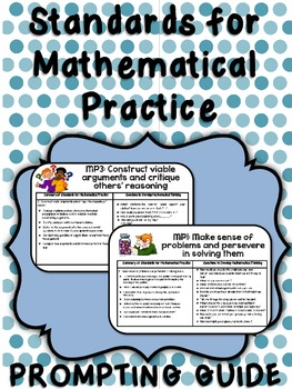 Math Practices Prompting Card