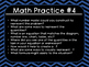 Math Practices & Questions Poster Set