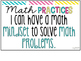 Math Practices Standards