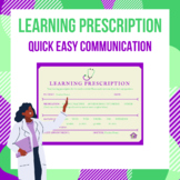 Learning Prescription