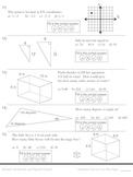 Math Pretest: Middle School (5 areas)