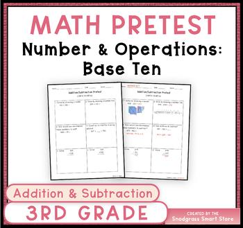 Math Pretest/Posttest: Addition and Subtraction