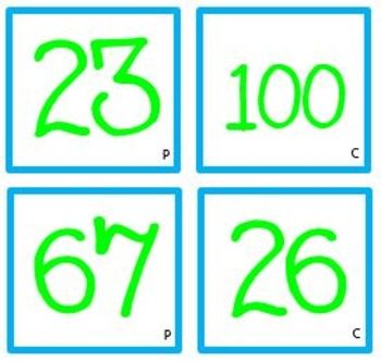 Math Prime or Composite Number Activity