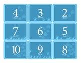 Math Printable Flash Cards for Boys - Single Digit Addition