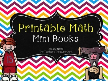 Interactive Math Printable Book Bundle