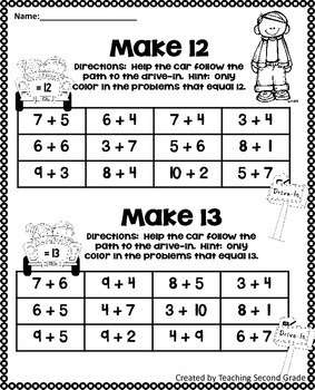 1st Grade Math Review