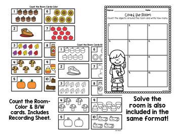 Math Printables & Worksheets-Fall Themed!