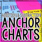 Addition and Subtraction Strategies Anchor Charts