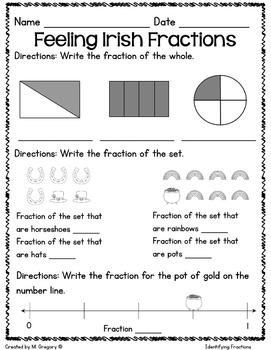 Math Printables for March -2nd Grade (No Fuss!)