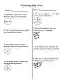 Math Probability Rally Coach - Cooperative Learning